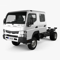 mitsubishi fuso canter 3D model