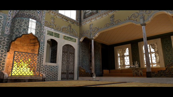 topkapi palace 3D model