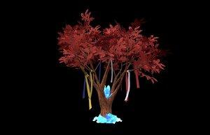 3D fantasy tree