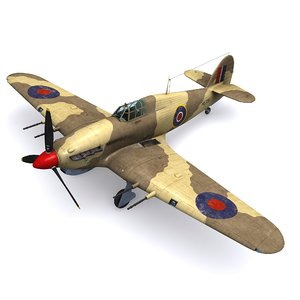 hurricane fighter 94 squadron 3D