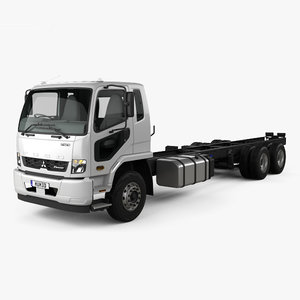 3D mitsubishi fuso fighter model