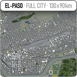 el paso surrounding area model
