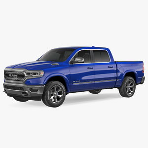 dodge ram 1500 simple 3D model