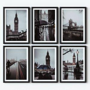3D poster london
