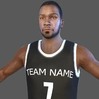 Basketball Player KD2