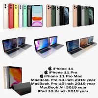 3D apple 2019-2020 2019