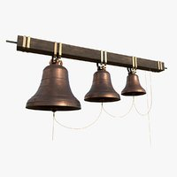 church bells 3D model