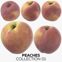 peaches 01 3D
