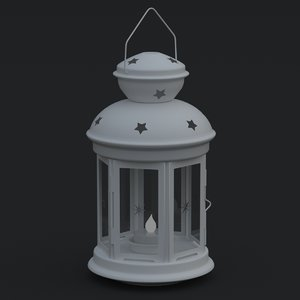 ikea tea light lantern 3D model