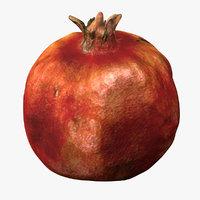 scanned pomegranate model