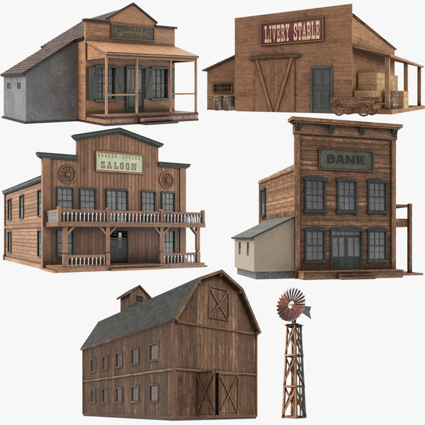 3D real western