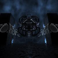3D concepts strange dark futuristic
