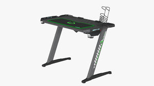 gaming desk 3D model