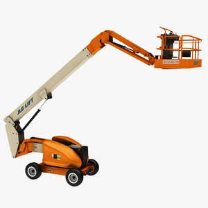 3D jlg lift unwrapped