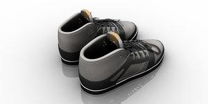 3D shoe model