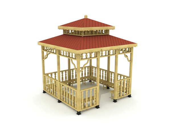 3D gazebo outdoor