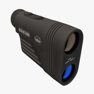3D veber rangefinder model