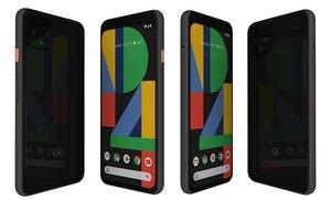 google pixel 4 just 3D