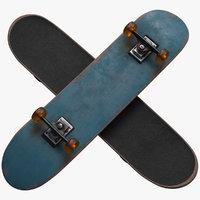 3D skateboard skate board