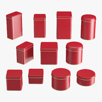 Containers Tins Set
