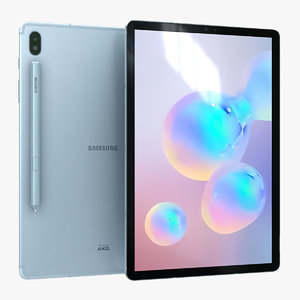 3D model samsung galaxy tab s6