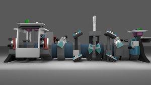 ultrafast laser 3D