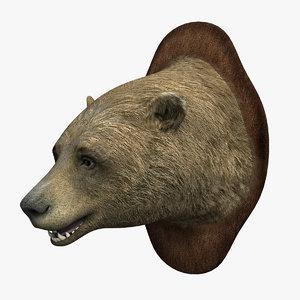 head bear 3D model