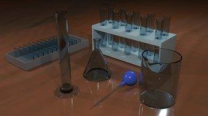 3D laboratory materials