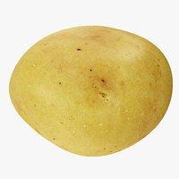 3D potato 04