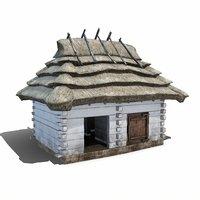 old pigsty building model