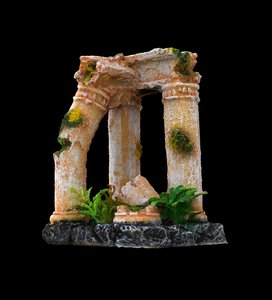 ancient columns scan 3D model