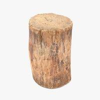 Log Round Short