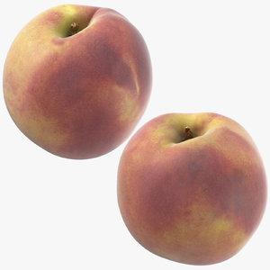 3D peaches 03 model