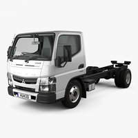 3D model mitsubishi fuso canter