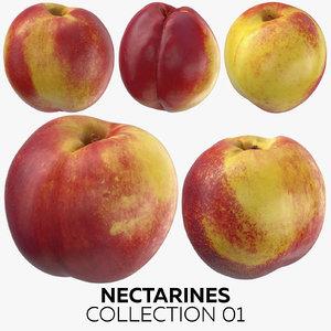 3D nectarines 01