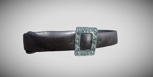 3D model pirate belt