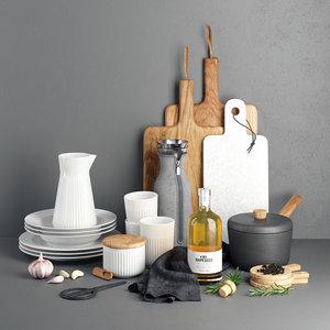 3D evasolo kitchen saucepan