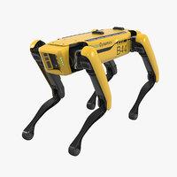 Rigged Boston Dynamics Spot Robot Dog