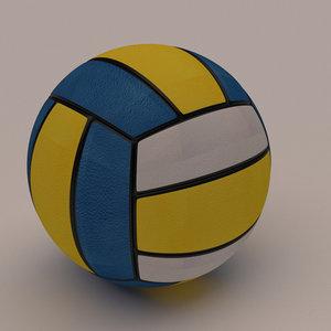 3D volley ball model
