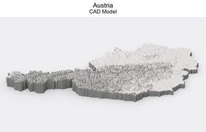 austria cad 3D model