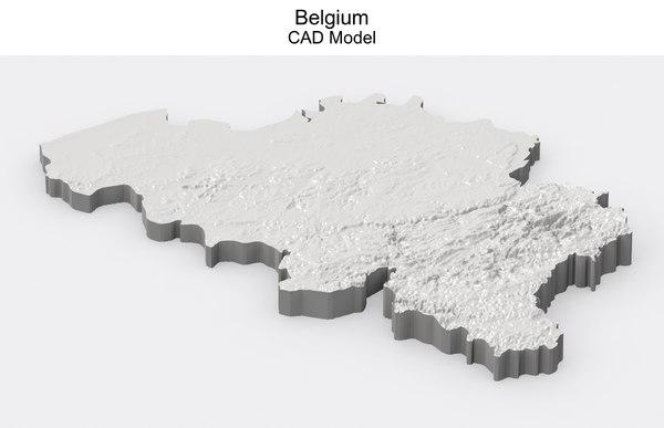 belgium cad 3D model