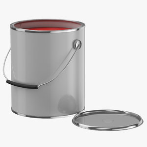paint bucket open 3D model