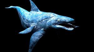 3D sea monster