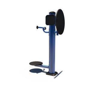 outdoor flex wheel body 3D model