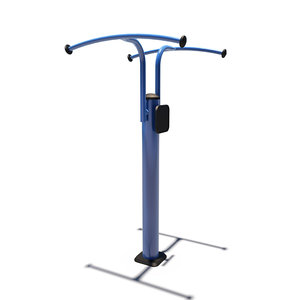 3D model outdoor upper body trainer