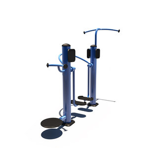 3D outdoor upper body trainer