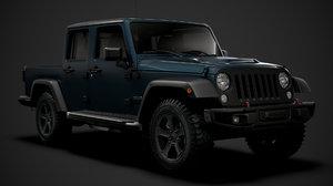 3D jeep gladiator rubicon recon