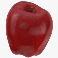 3D red chief apple 05