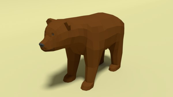 brown bear 3D