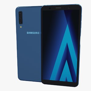 samsung galaxy a7 2018 3D model